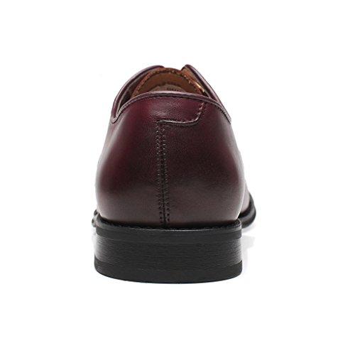 Modern Milano Men's Round Classic La Captoe Shoes Oxfords UI8xq