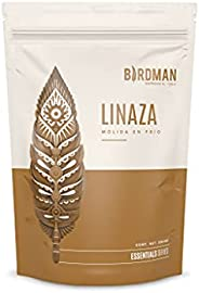 Birdman Linaza Dorada Molida en Frio, Libre de OGM's, Libre de Gluten, Omega-3, Omega 6 y Omega 9, 50