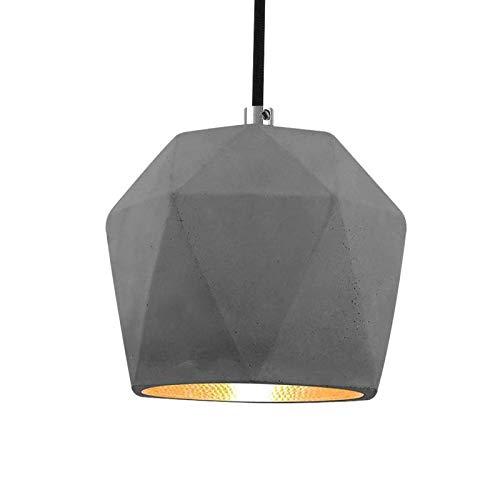 EYLM Retro Lámpara de techo Iluminación colgante industrial Loft de metal Lámpara Pantalla Sombras Pantallas vintage Colgante E27 G45 Base Luminari