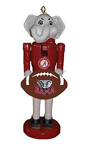 (Santa's Workshop Alabama Football Nutcracker Ornament)