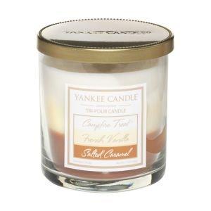 Vanilla Housewarmer Jar - Yankee Candle 7oz Tri Pour Tumbler Candle - Dessert