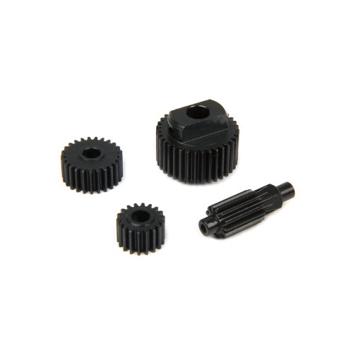 Traxxas Summit 1:16 Hardened Steel Center Gear Set Hop Up Upgrade by Atomik RC - Replaces Traxxas Part 7093