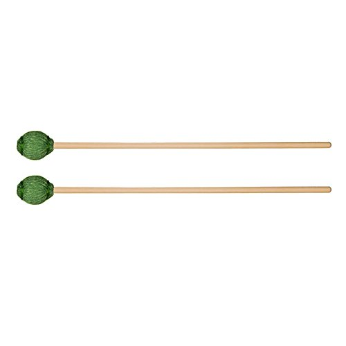 Vic Firth Corpsmaster Andrew Markworth Keyboard Mallets Hard Marimba (Hard Birch Marimba Mallets)