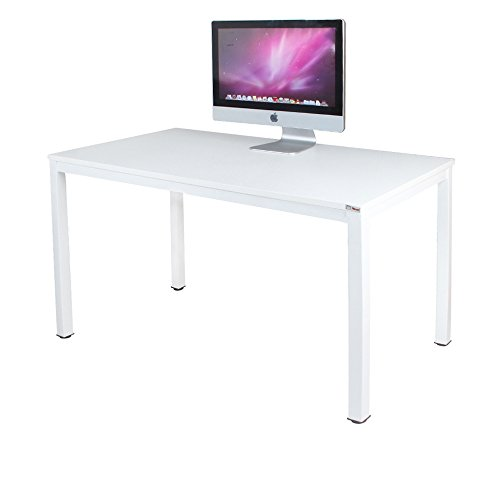 Need Computer Desk 47'' Computer Table with BIFMA Certification Writing Desk Workstation Office Desk, White AC3DW-120 by Need