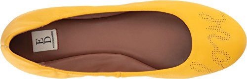 free shipping how much geniue stockist cheap online ED by Ellen Womens Langston Leather Closed Toe Ballet Flats Sunrise Avalon Nappa shopping online clearance sale online shopping free shipping official site 8G5eBNAit