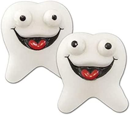 GOODY BAGS 24 FUNNY TEETH PARTY FAVORS COSTUME CARNIVAL PINATA GREAT TOY