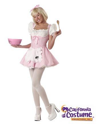 [Miss Muffett Teen Costume] (Little Miss America Costume)