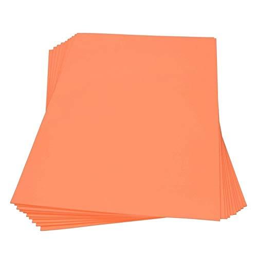 efco Moosgummi Platte 45x30cm Orange