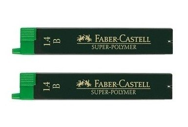 Faber-Castell Refill Leads 1.4mm B (Pack of 2)