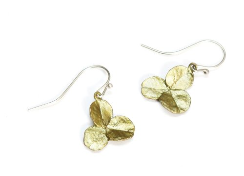 Michael Michaud Clover Wire Earrings 4845