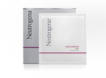 Neutrogena Fine Fairness Facial whitening treatment mask 4 S
