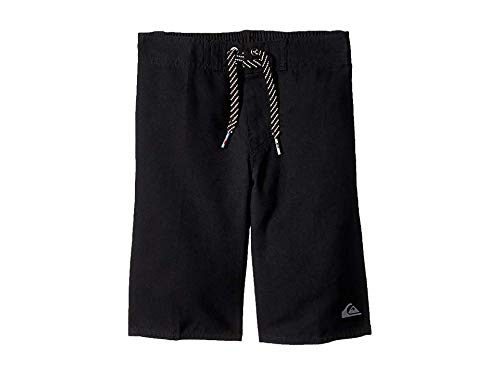 (Quiksilver Little Boys' Highline Kaimana Kids Swim Trunks, Black, 3)