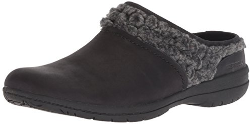 - Merrell Women's Encore Kassie Slide Wool Clog, Black, 9.5 M US