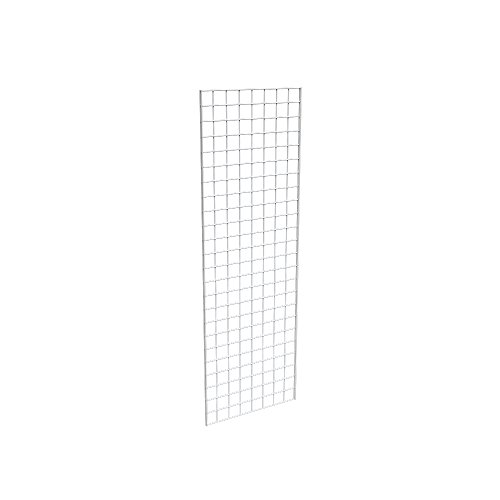 Econoco Commercial Grid Panel, 2' Width x 6' Height, White (Art Display Panels compare prices)