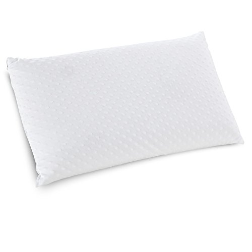 Impressions Pillow Foam Memory (Classic Brands Embrace Firm Ventilated Latex Foam Pillow with Velour Cover, Queen)
