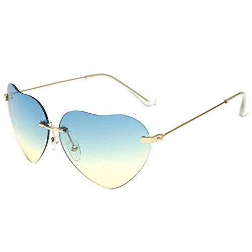 Sinkfish SG80031 Gift Sunglasses for Women,Anti-UV & Retro Oval Reflector - UV400 ()