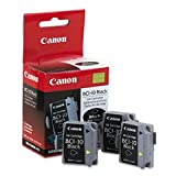 Genuine NEW Canon BCI10Bk 0956A003 Black Ink Cartridge 3 Pack, Office Central