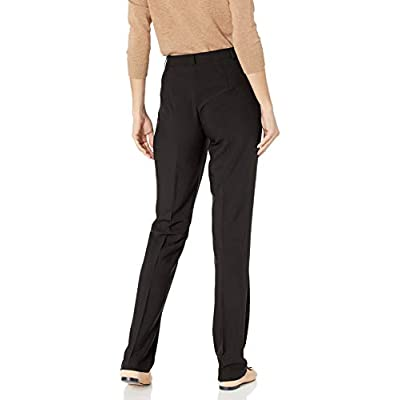 Tribal Women's Flatten It Soft Twill Bi-Stretch Straight Leg Pant at Women's Clothing store