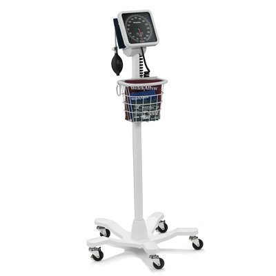 Welch Allyn 7670-03 767 Mobile Aneroid with Reusable FlexiPort Cuff, Adult (Mobile Allyn Welch Stand)