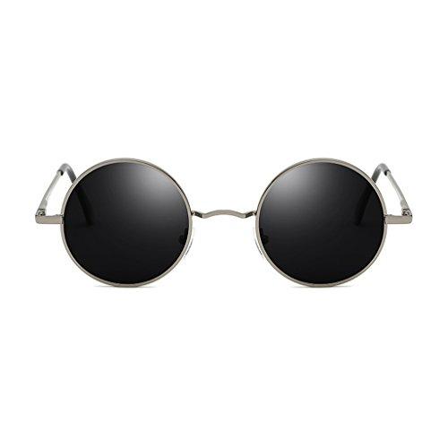 de Polarizadas Color De B De Gafas Hombres Gafas Los del C Metálico Marco TLMY Sol Sol TgPAyOnWnq