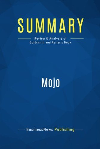 Summary: Mojo: Review and Analysis of Goldsmith and Reiter's Book pdf