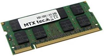 MTXtec Memoria de Trabajo 2GB RAM para Acer Extensa 5630Z