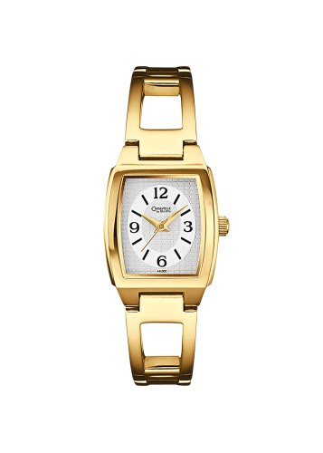 Caravelle by Bulova Women's 45L006 Bangle Bracelet Ivory Dial Watch
