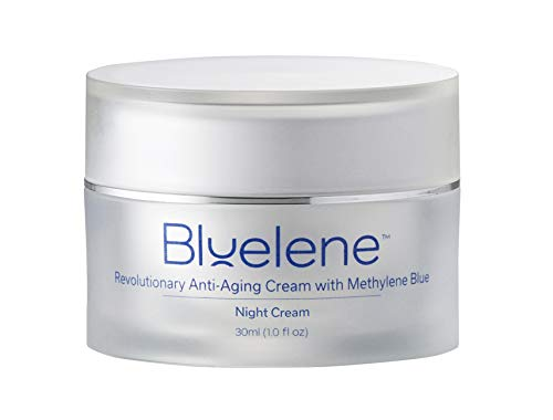 Anti Aging Night Cream, Bluelene. Revolutionary Anti Wrinkle Face Cream with Methylene Blue (30 - Cream Aging Wrinkle Night Anti Anti