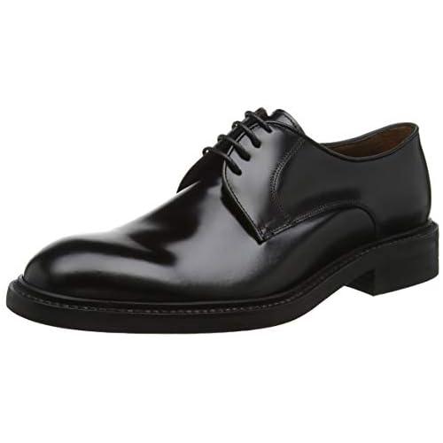 chollos oferta descuentos barato Lottusse L6710 Zapatos Derby con Cordones para Hombre Negro Jocker P Negro 9 EU