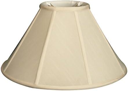 Royal Designs DBS-706-20EG Series Empire Lamp Shade, Eggshell, 7 x 20 x 12.5