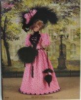 Crochet Collector Costume Volume 36 (1895 Paris Spring Fashion, including dress, jacket, hat, parasol, boots &
