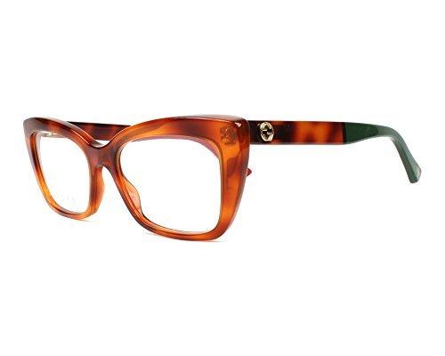 Eyeglasses Gucci GG 0165 O- 004 HAVANA /