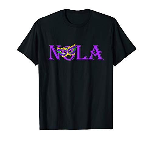 NOLA | New Orleans Mardi Gras T-Shirt | 504 -