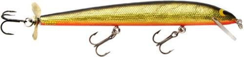 Wood Designer Classics (Bagley Bang O Lure Genuine Balsa Wood Classic Minnow Fishing Bait with Spintail, Tennessee Shad Orange Belly, 4 1/4-Inch)