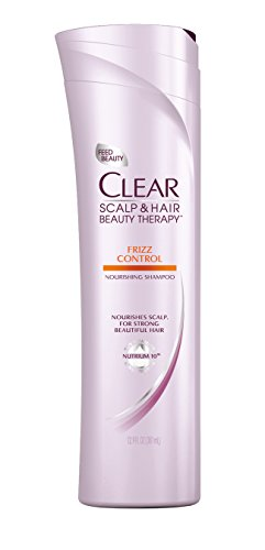 - Clear Scalp and Hair Beauty Therapy Frizz Control Nourishing Shampoo, 12.9 Fluid Ounce