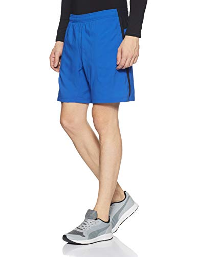 Under Armour Men's Launch 2-in-1 Shorts,Lapis Blue (984)/Reflective, Large by Under Armour (Image #3)