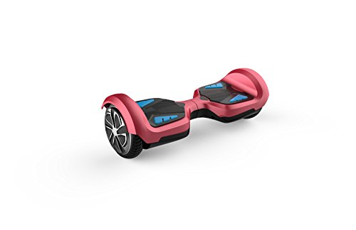 TOMOLOO Hoverboard with Bluetooth Speaker & LED Light and App Two-wheel Self Balancing Scooter with UL2272 Certified