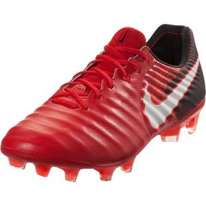 NIKE Tiempo Legend VIII FG Men's Soccer Firm Ground Cleats (11.5 D(M) US, University Red/Black/Bright Crimson/White) by NIKE