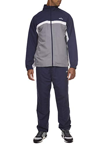 Spalding Pre-Game Hoops Woven Tracksuit Windsuit Dark Navy Large