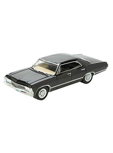 (Greenlight Hollywood 44692 1:64 Scale Supernatural 1967 Chevrolet Impala Sedan)