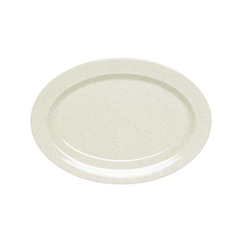(San marino melamine dinnerware collection 11.5 x 8 inch oval platter 3/4 inch deep, comes in)