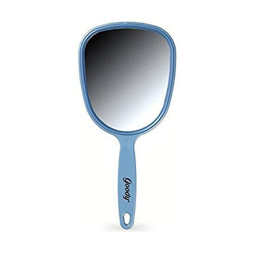 "11 1/4"" FULL SIZE HAND MIRROR, Color may vary (2-Pack)"