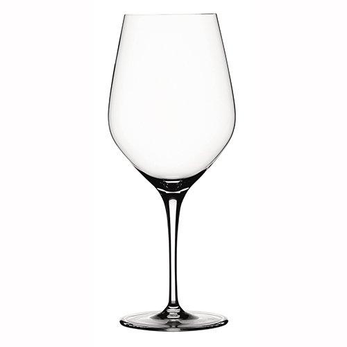 (Spiegelau 4-Pice Authentis Bordeaux Wine Glass Set, Clear)