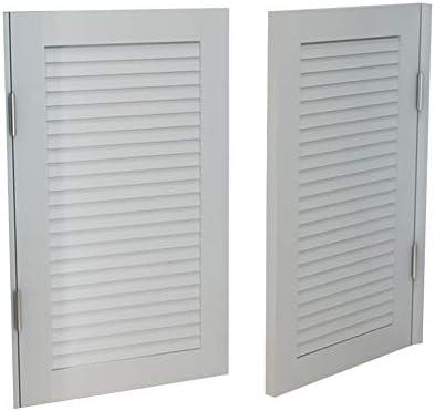 LIANGLIANG 回転カフェドア、ヨーロッパスタイルの腰ドア無垢材ハーフウエストカウボーイバーウエストドアパーティションフェンスハーフドア、カスタマイズ (Color : White, Size : 115x100cm)