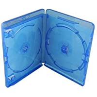 Amaray Blu Ray Double Case Pack 5 Face on Face Storage Cases
