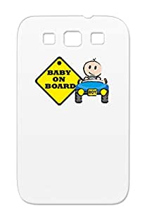 Shockproof Yellow Pregnancy Pregnancy Moother Mommy Baby Baby Family Car Boy On Board Cover Case For Sumsang Galaxy S3