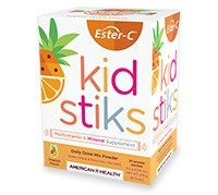 - American Health Ester-C Kid Stiks Tropical Punch Packets, 30 Count