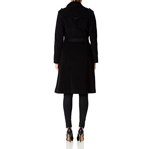 Military amp; Wool Crème Noir De Cashmere Long Trench Womens La Belted Coat wqIxwt78O