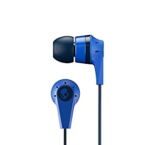 Skullcandy Ink'd Bluetooth Wireless Earbuds with Microphone, Noise Isolating Supreme Sound, 8-Hour Rechargeable Battery, Lightweight with Flexible Collar