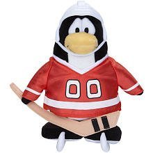 Disney Club Penguin 6.5 Inch Series 5 Plush Figure Hockey Player [Includes Coin with Code!] by Club Penguin